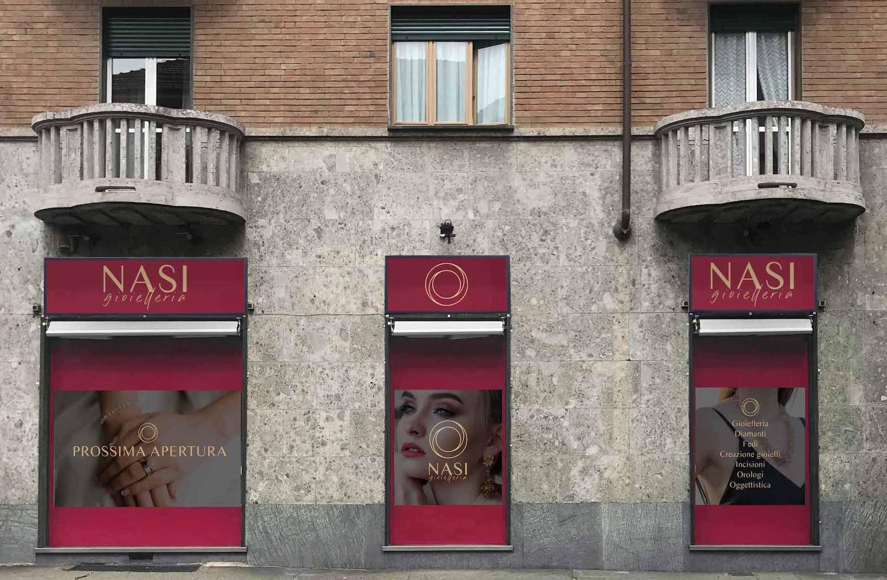 vetrina_apertura_grafica_gioielleria_nasi_portfolio_hitlife_agency