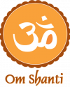 logo om shanti scuola yoga thai chi meditazione